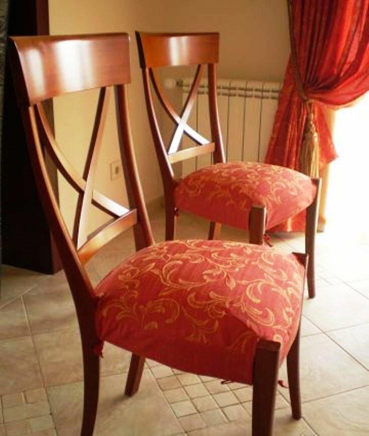 сиденья на стулья своими руками